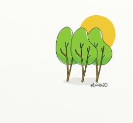 árboles ¿equidistantes?