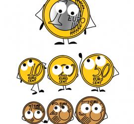 Un euro y todos sus amigos
