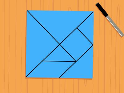 ¡Ya tenemos el tangram!