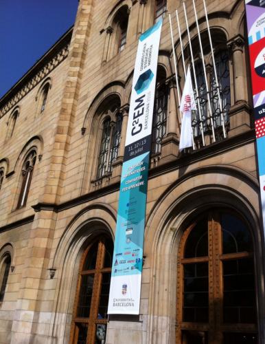 c2em se celebró en el edificio histórico de la UB