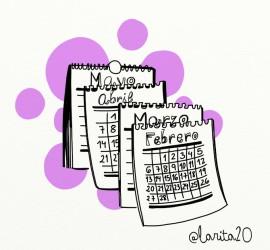 calendario sobre lunares de feria