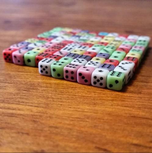 matematicas con dados