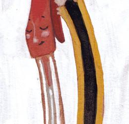 Boli y lápiz