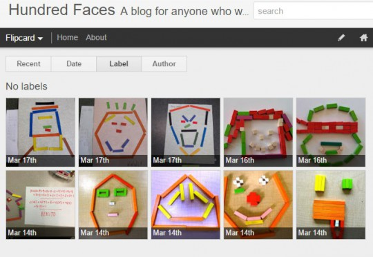 Blog hundred faces