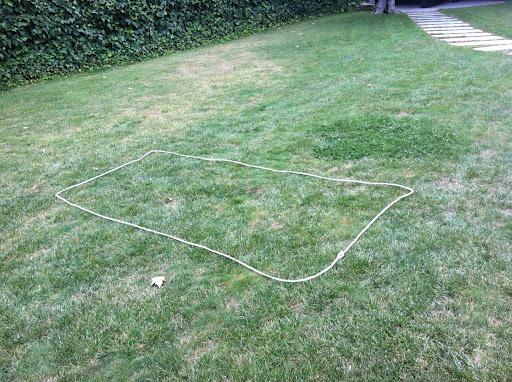 Los otros deberes (2): Geometría en el césped