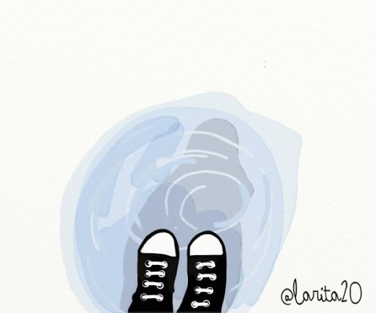 el reflejo de mi padre en la lluvia