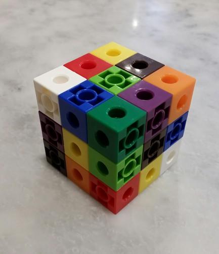 tres caras de una solución