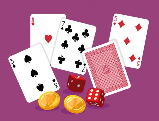 cartas, dados, monedas, elementos con los que descubrir la probabilidad
