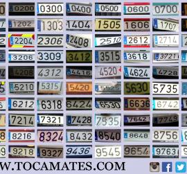 Matrículas de multiplicar