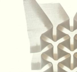 cachito de mosaico de tela