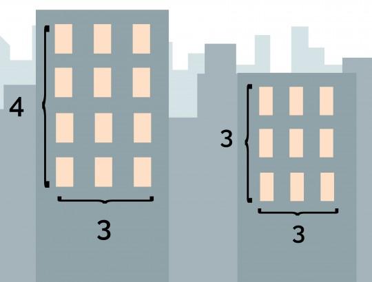 matemáticas en la ciudad