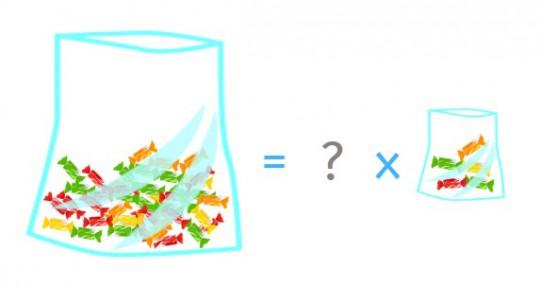 ¿Cuántas bolsas necesitaremos?