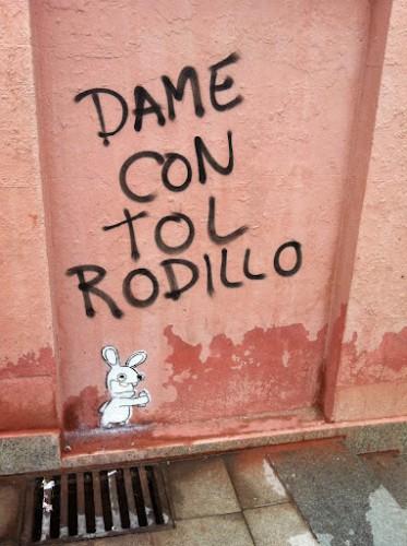 Arte urbano, las mates se suben por las paredes
